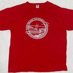 Vintage Fort Bragg Red Muscle T-Shirt